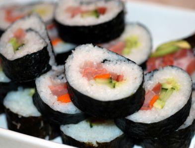 суши,  сашими